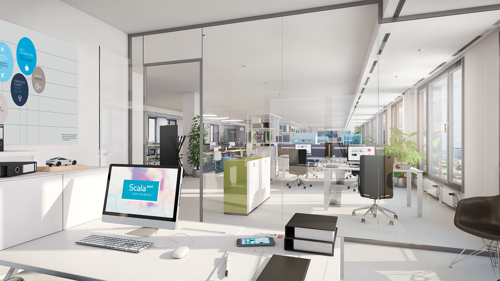moderne Officewelt